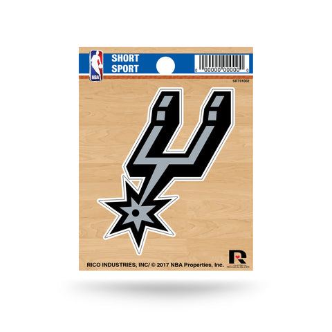 "San Antonio Spurs 3"" x 2"" Die-Cut Decal Window, Car or Laptop!"