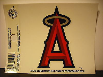 Los Angeles Angels Logo Static Cling Sticker NEW!! Window or Car! Trout