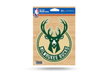 "Milwaukee Bucks 6"" x 5"" Die-Cut Decal Window, Car or Laptop!"