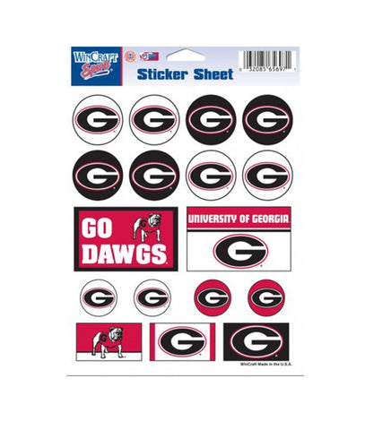 South Carolina Gamecocks Vinyl Sticker Sheet 17 Decals 5x7 Inches