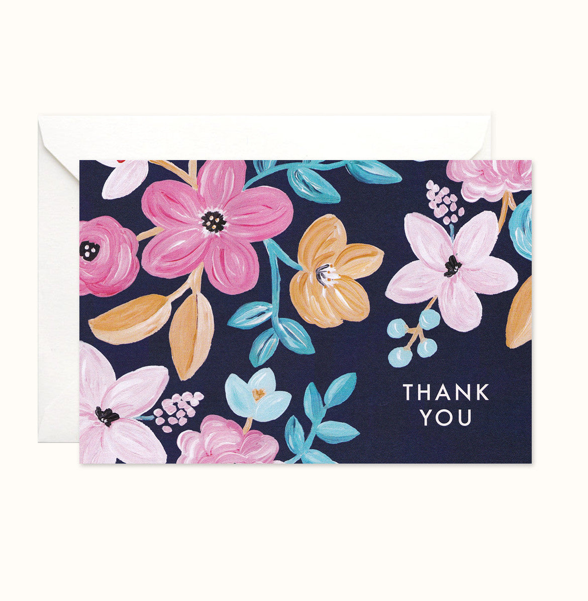Forever Blossoming Thank You card
