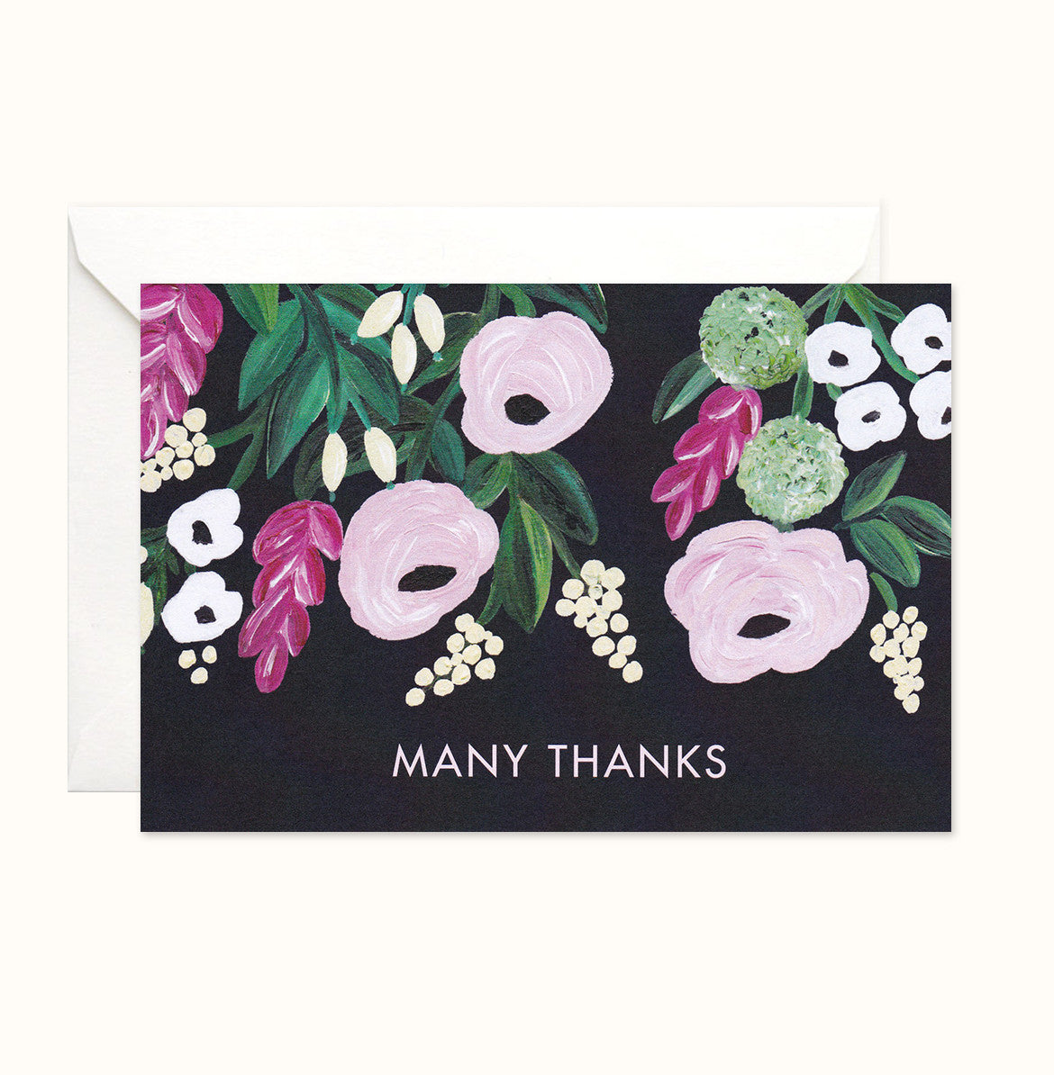Dreamy Florals Thank You card