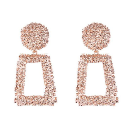 Janize Drop Earrings - Rose Gold - STYLE STRUCK