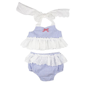 - Haute Baby Sail Away Lucy Bow Headband