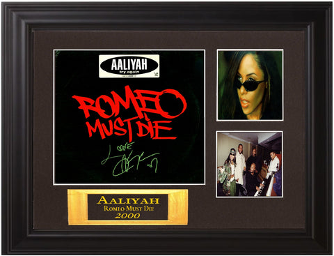 AAliyah Autographed lp