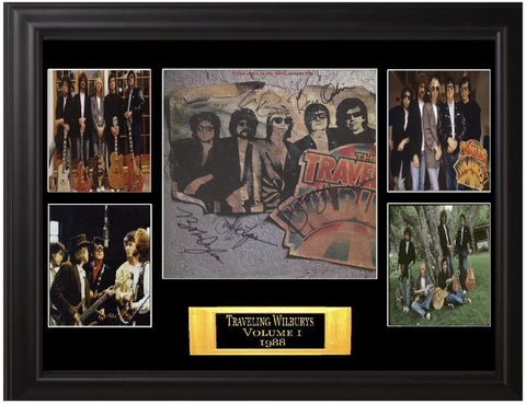 The Traveling Wilburys Autographed Lp