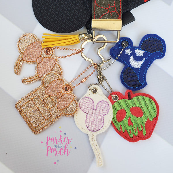 Digital Download- Magical Charms - Set 1 - in the hoop machine embroidery