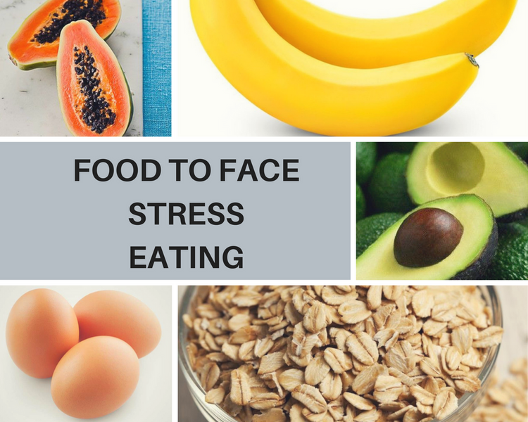 5 TYPES OF FOOD TO AVOID STRESS EATING