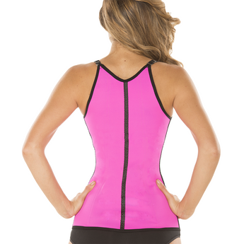 Ursula Workout Vest Fusioned Latex, Fuchsia