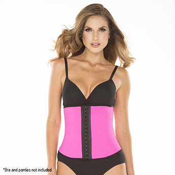 Ursula Waist Trainer Fusioned Latex, Fuchsia