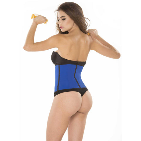Ursula Waist Trainer Fusioned Latex, Blue