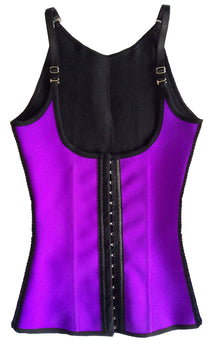 Ursula Workout Vest Fusioned Latex, Purple