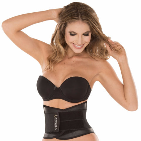 Ursula Women's Waist Trainer Belt Hourglass Shaper, Adjustable Double Strap
