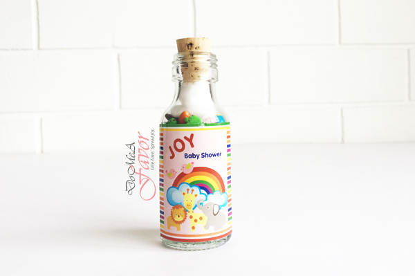 Rainbow Zoo Potion Bottles