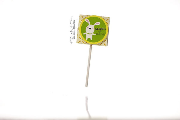 Benny the Bunny Organic Lollipops