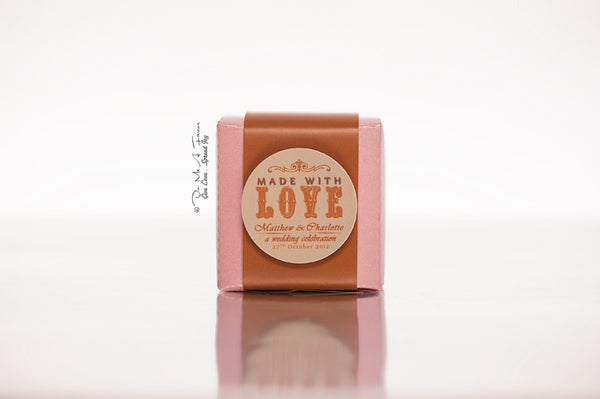 Made With Love Favor Boxes