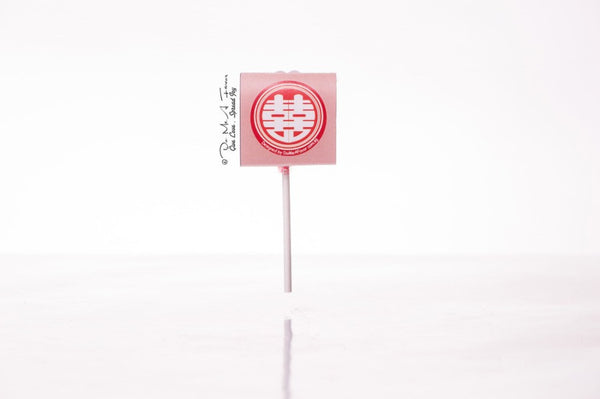 Oriental Couple Organic Lollipops