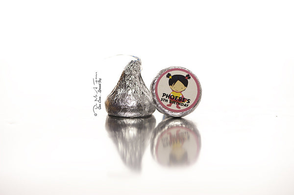 Little SuperGal Hershey's Kisses