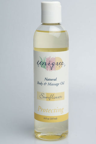 Sunflower Body & Massage Oil (8oz.)