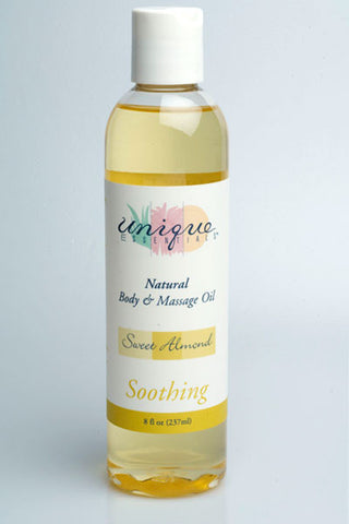 Sweet Almond Body & Massage Oil (8oz.)