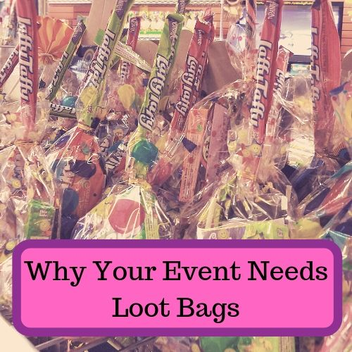 Why Your Event Needs Loot Bags-Event Planning