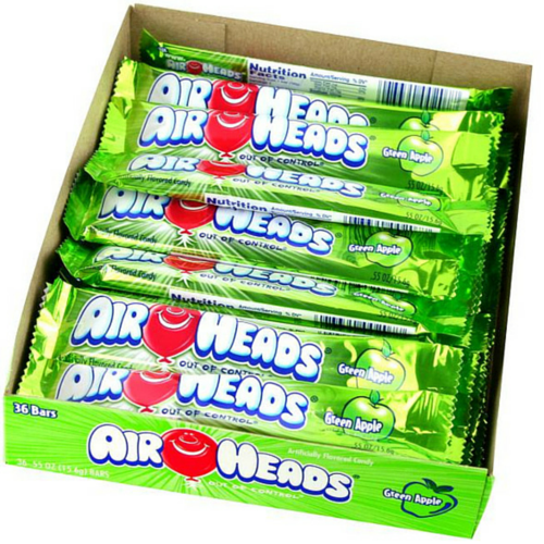 Airheads Candy-Green Taffy-Retro Candy