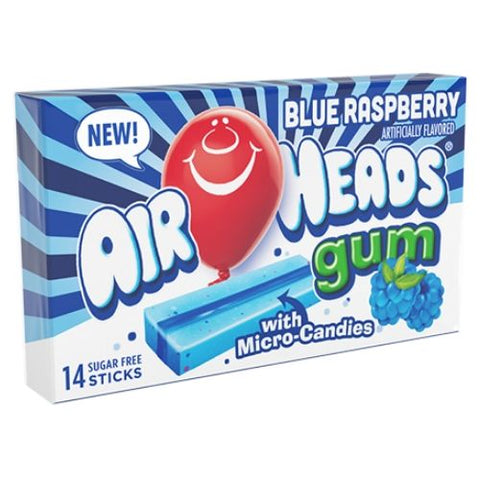 Airheads Gum Blue Raspberry-12 CT