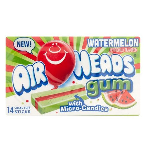 Airheads Gum Watermelon-12 CT