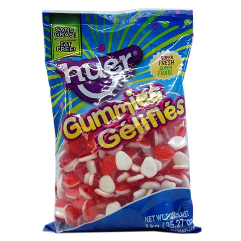 Huer Soft Strawberries Gummy Candy-1 kg