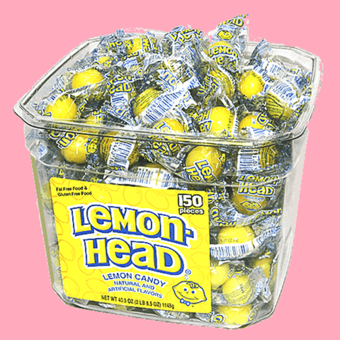 Lemon-Head Candy