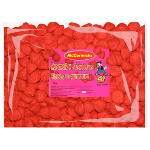 McCormicks Marshmallow Strawberries Candy-1 kg
