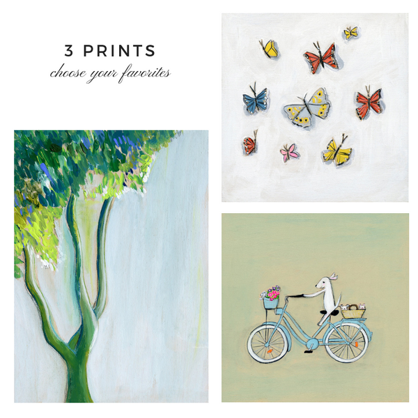 3 Prints Collection | Choose your Favorites {available for a limited time}