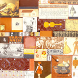 Feature Wall. Decorative Wall Panelling. Vintage imagery Wall covering,bespoke, vintage handmade