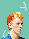 David Bowie Graphic Art Print