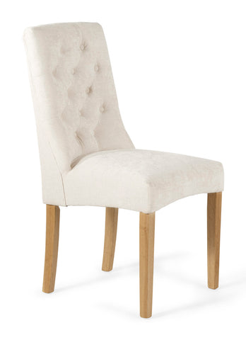 Fulham Dining Chair in Pearl (2 Chairs Included)