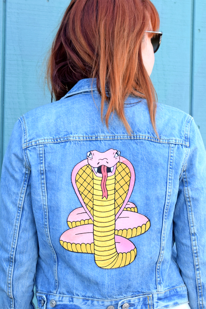 Cobra Back Patch