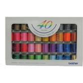 Brother Embroidery Threads - 40 Colors