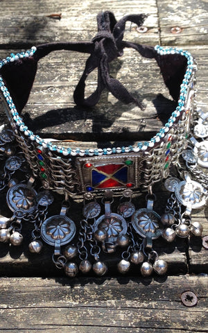 Necklace Tribal Afghan Choker
