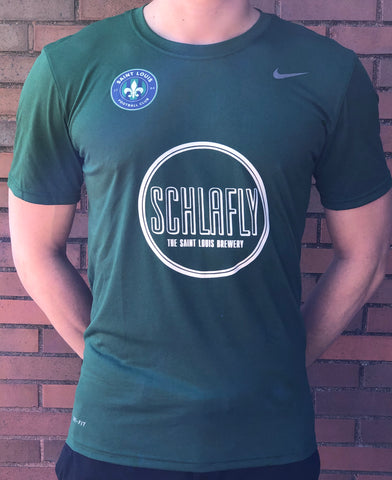 STLFC Replica Schlafly Training Top - Green