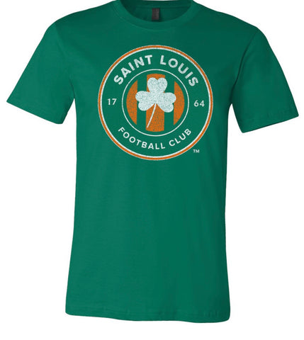 Saint Louis FC - Limited Edition St. Patricks Day Shamrock T-Shirt