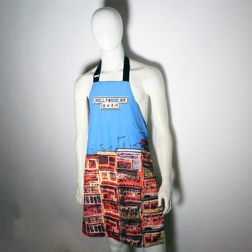 'Alex Croft x G.O.D. graffiti wall' apron, Kitchenware, Goods of Desire, Goods of Desire