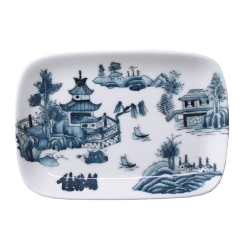 'Chinese Garden' handpainted soap dish, Homeware, Goods of Desire, Goods of Desire