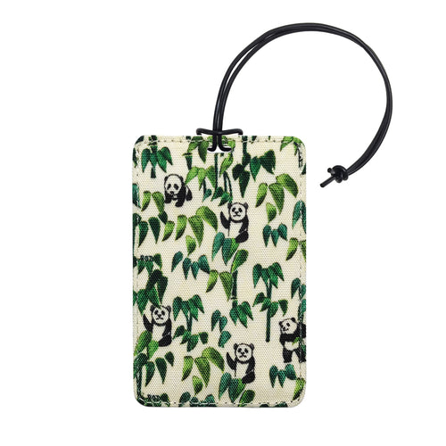 'Panda Bamboo' luggage tag