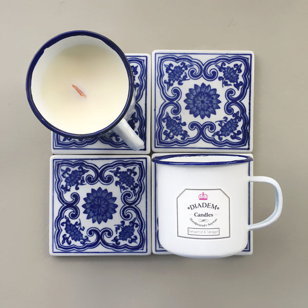 Enamel Mug Candles