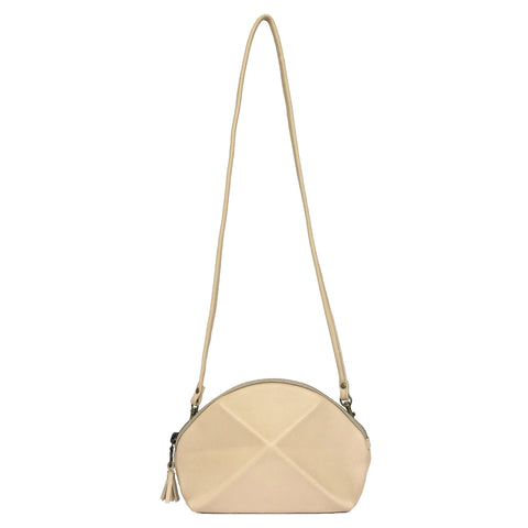 Pyramid Cross Body bag - Tan