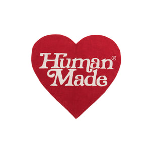 HUMAN MADE x GIRLS DON'T CRY HEART RUG