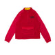 ARCH POLAR FLEECE PULLOVER / tango red / S
