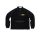 ARCH POLAR FLEECE PULLOVER / black / S