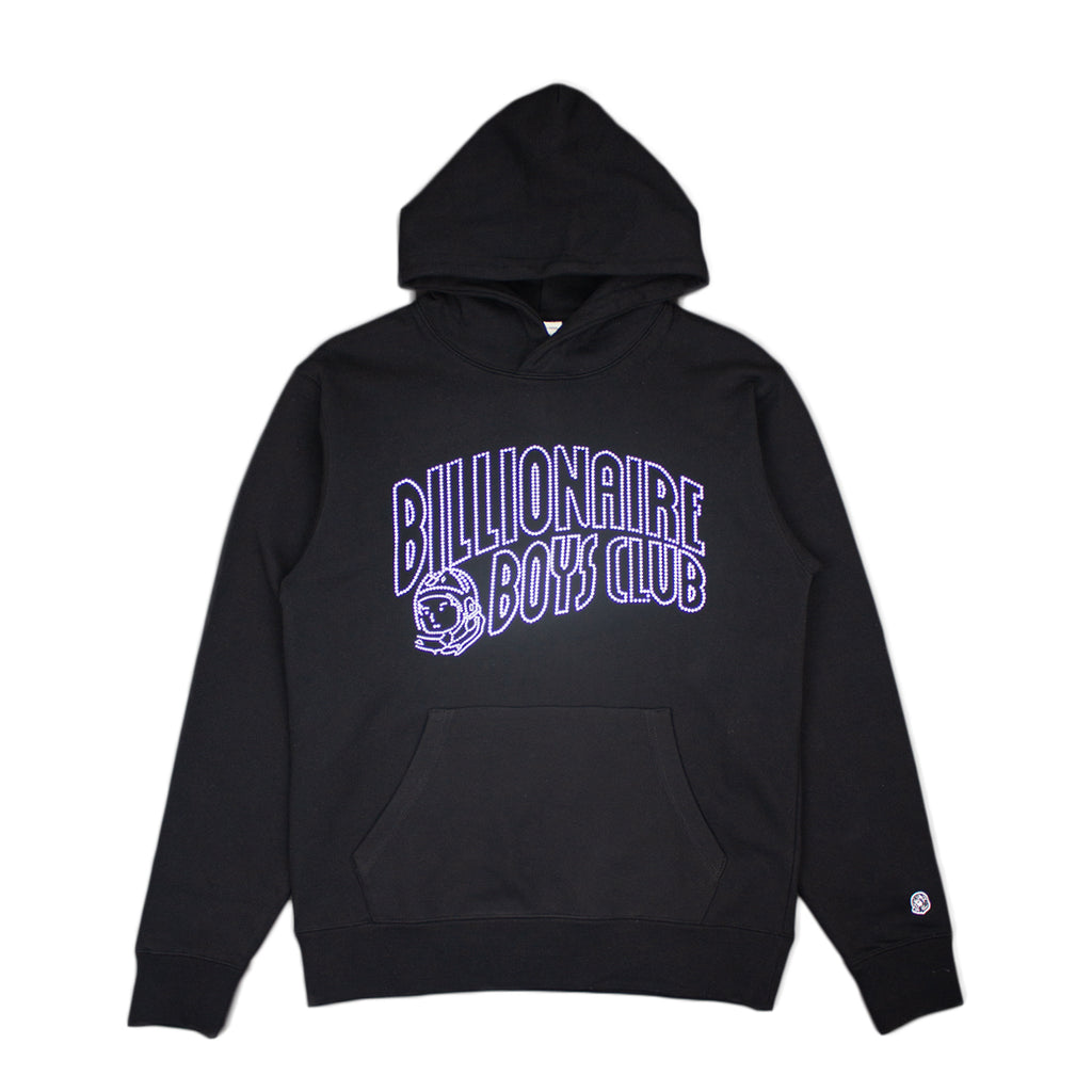 BBC CRYSTAL CURVED OUTLINE HOODIE