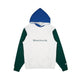 COLOUR BLOCK POPOVER HOOD / WHITE / S